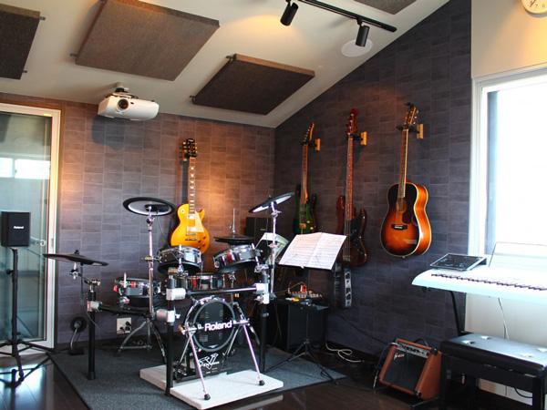 管楽器 / エレキギター防音室