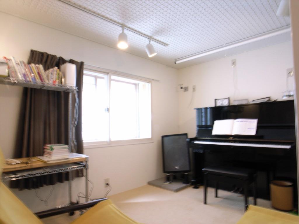 戸建住宅に制作したピアノ防音室