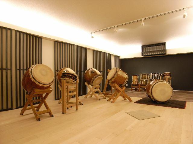 和太鼓練習ができる防音室