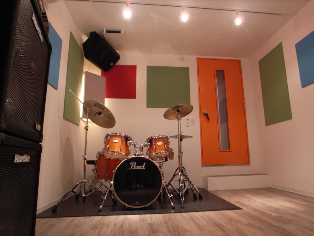 戸建て住宅でリハーサルスタジオ2部屋を実現した防音室 画像2