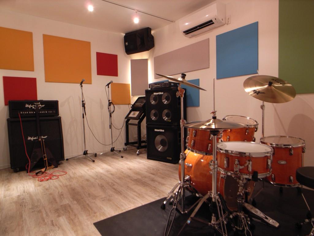 戸建て住宅でリハーサルスタジオ2部屋を実現した防音室 画像1