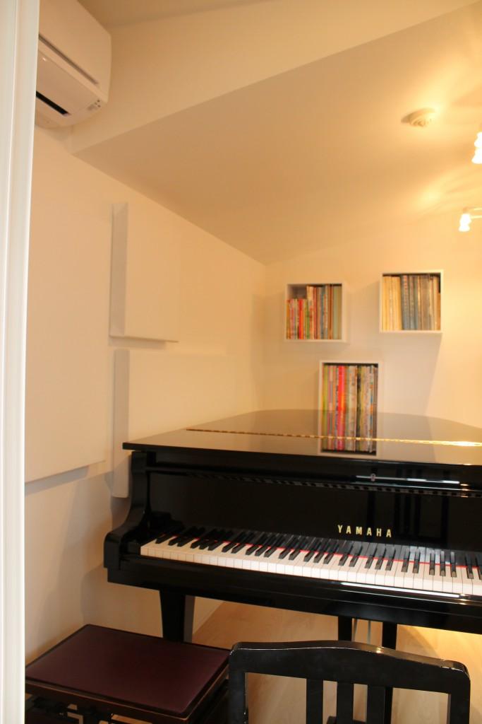 マンション ピアノ防音室 画像1