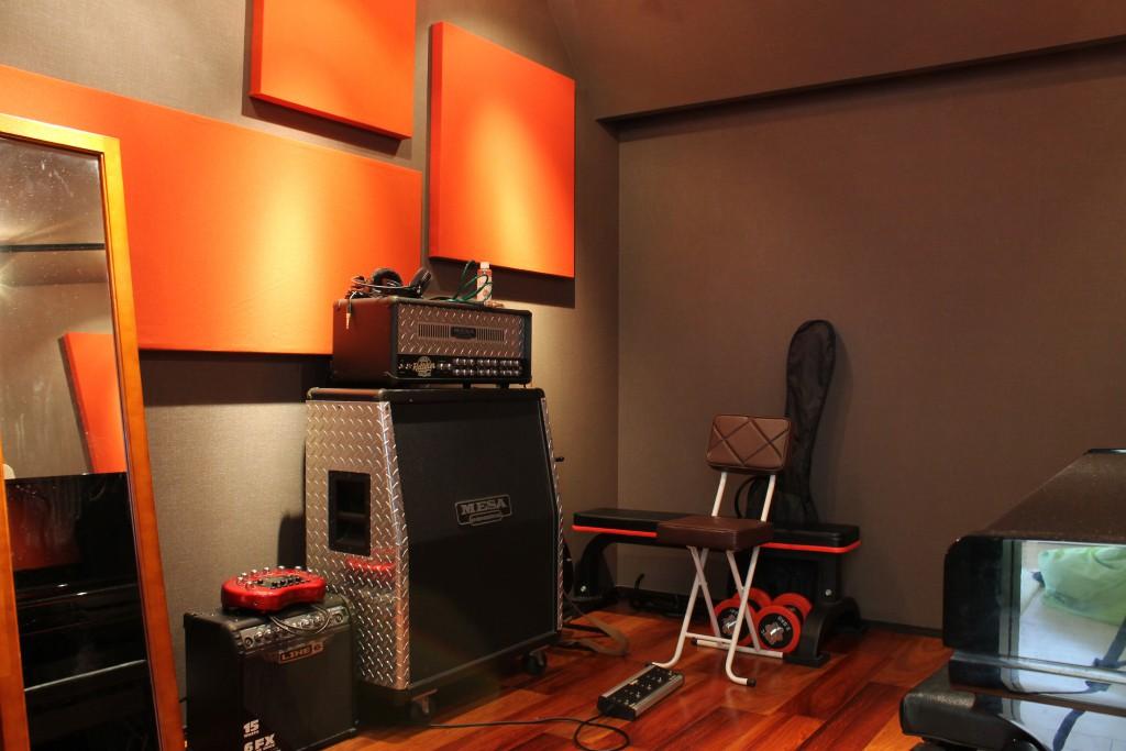 自宅に音楽室