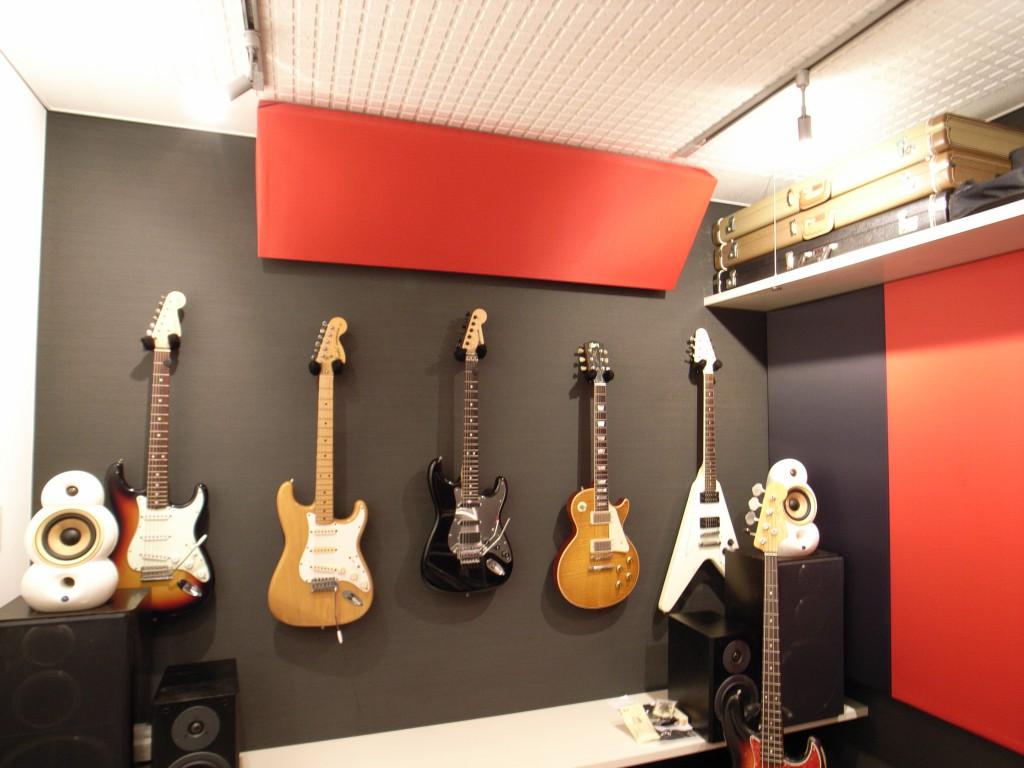 エレキギター演奏スタジオ防音室 画像3