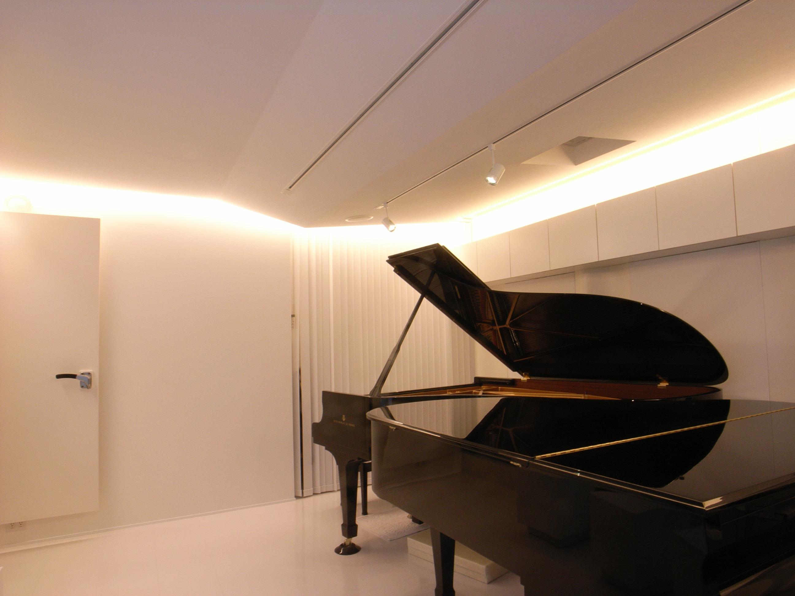 ピアノサロン防音室