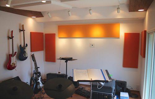 和室からシアター・バンド練習室へ