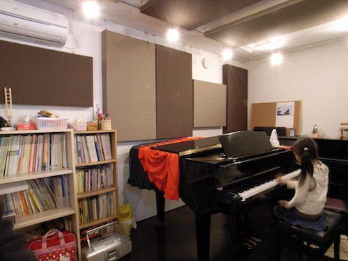 音楽教室 ピアノ防音室