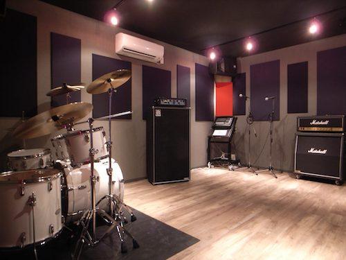 戸建て住宅でリハーサルスタジオ2部屋を実現した防音室