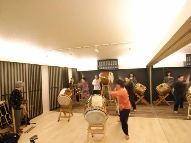 住宅街の中にある和太鼓スタジオ防音室 画像1